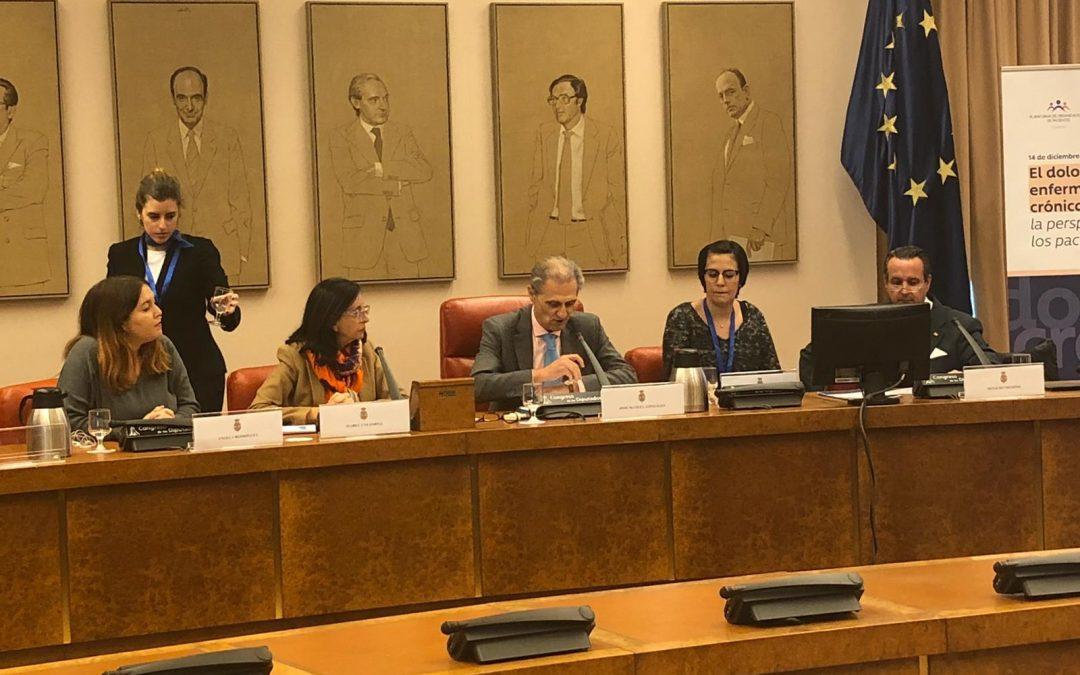 """AEMICE participa en la presentación del informe """"El Dolor en la enfermedad crónica"""""""