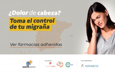 """Más de 350 farmacias ya se han adherido a la campaña """"¿Dolor de cabeza? Toma el control de tu migraña"""""""